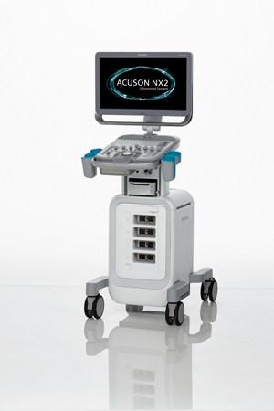 Das Ultraschallsystem SIEMENS ACUSON NX2 ist das mobile Einstiegssystem der nächsten Generation aus der Siemens ACUSON Produktlinie.