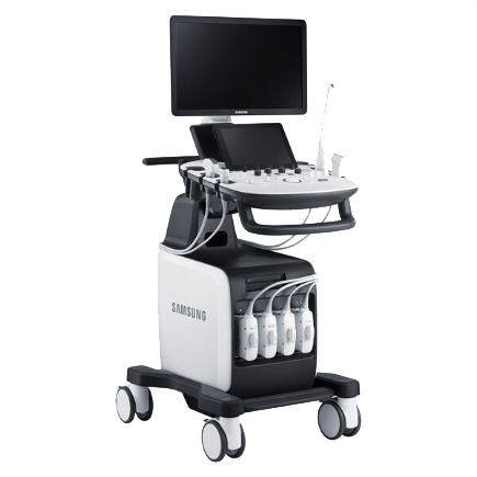 SAMSUNG HS60 A bietet umfangreiche Funktionen die Ihre Untersuchungen präzise und einfach gestalten.