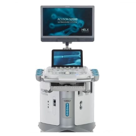 Produktabbildung Ultraschallgerät SIEMENS ACUSON S2000 HELX Evolution Touch Control