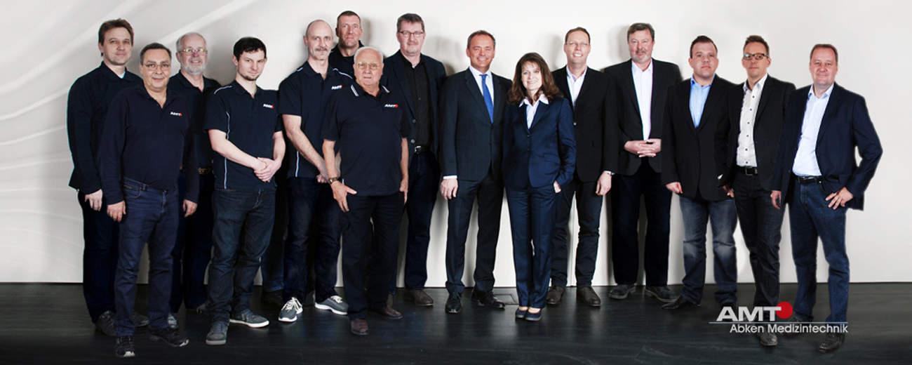 AMT Abken Team Geschäftsleitung, Vertrieb und Service Mitarbeiter in Wunstorf