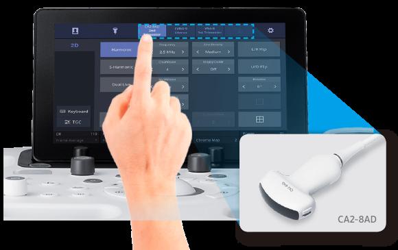 SAMSUNG HS40 Quick Preset Auswahl über TouchScreen von AMT Abken Medizintechnik in Wunstorf