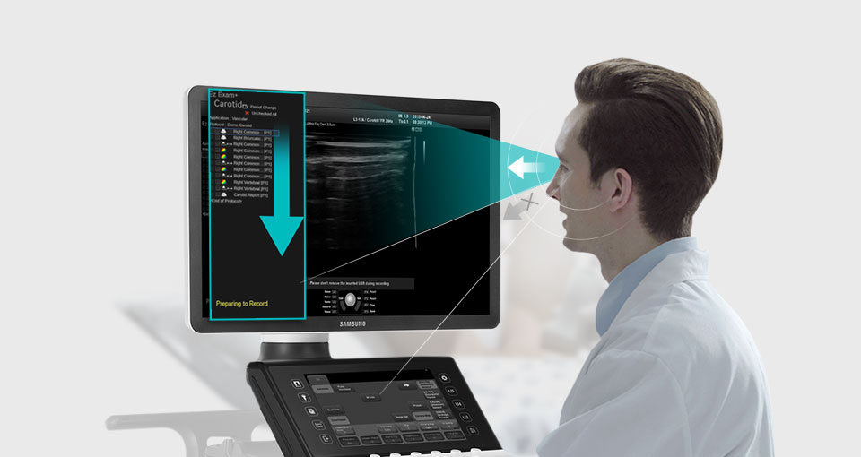 AMT Abken Medizintechnik in Norderstedt bei Hamburg - Ultraschallgerät HS70A Exam