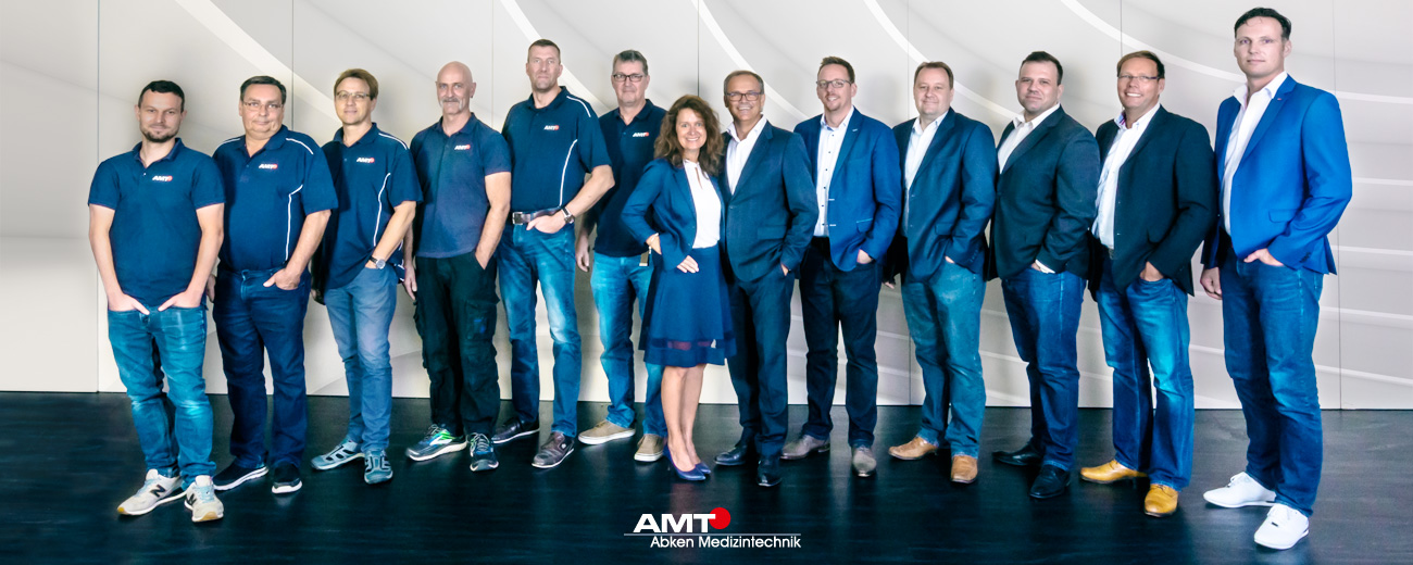 AMT Abken Teamfoto - AMT Abken Medizintechnik in Wunstorf bei Hannover