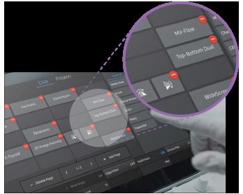 Samsung Hera W10 - Modifizierbarer Touchscreen