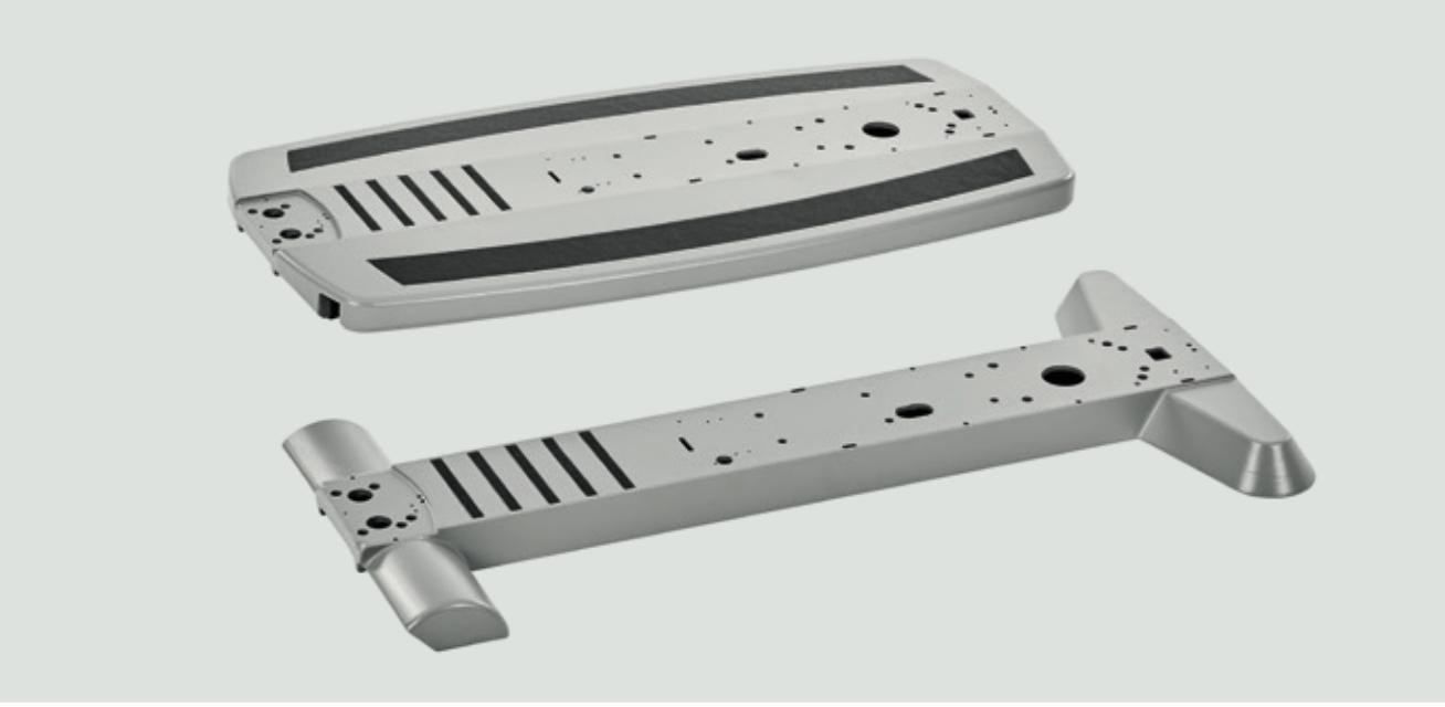 Aluminium-Plattform des Modells ergoselect 4